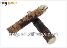 wood eagle hand carved x-fire K fire electronic cigarette pipe wooden vaporizer PK iGo W3
