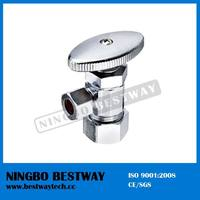 Oval Knurled Handle Compression Angle Valve In China