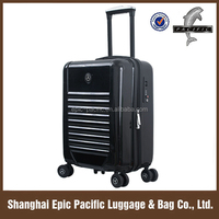 OEM Personalized Design Abs Pc Wheeled Pilot Case For Gift Free