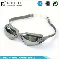 Latest unique design advanced anti fog adult swimming goggles with good offer
