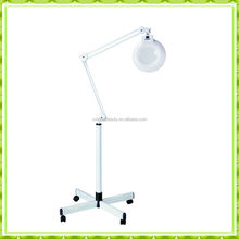 Cold light magnifying lamp with rolling stand (C002)