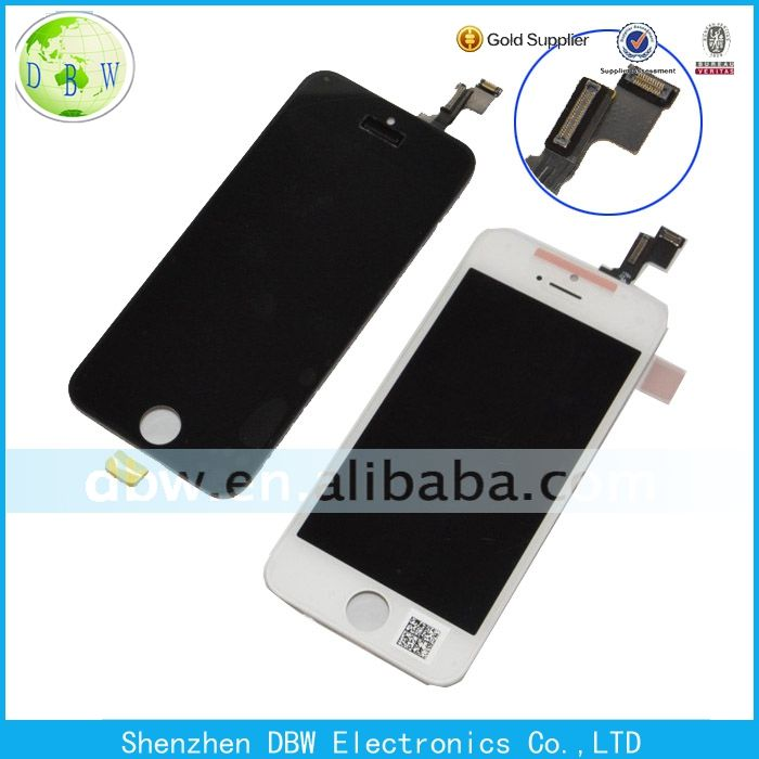 Original For Iphone 5C Lcd Display Replacement,For Lcd Iphone 5C, Lcd For Iphone 5C with touch screen digitizer assembly