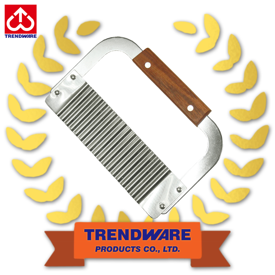 Stainless steel corrugated blade Crinkle Cut potato serrator