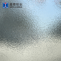 3003 H14 stucco embossed aluminum coil orange peel pattern for refrigerater