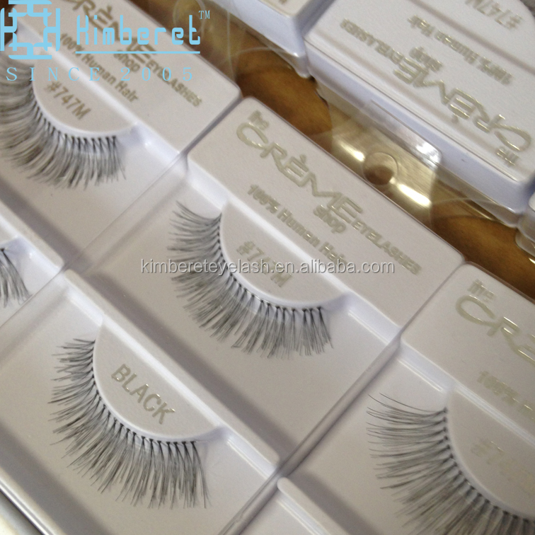 Own brands fales eyelashes new material wholesale false eyelash