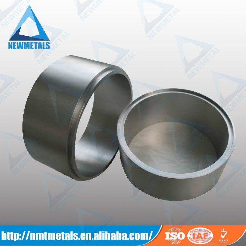high quality molybdenum forged and sintered pipe block tube