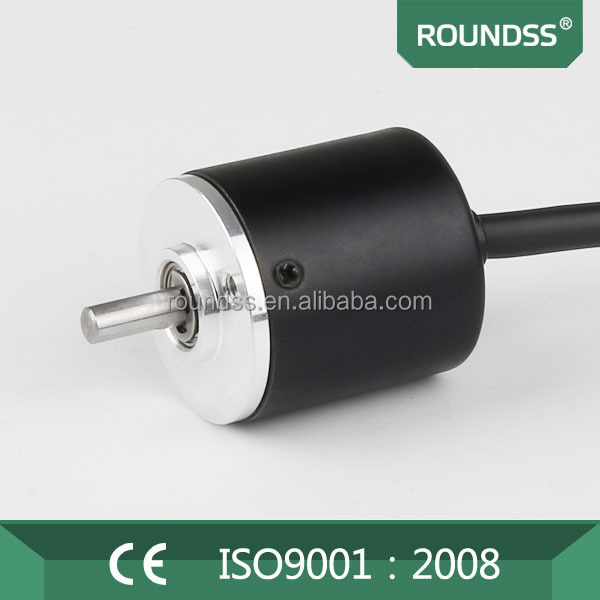 Incremental mini rotary encoder 25mm outdiameter 4mm solid shaft waterproof solid shaft encoder