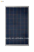240w poly semi-flexible solar panel, 240watt flexible solar panel for boat RV