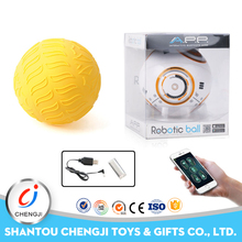 New kids items robotic ball game smart phone android app controlled toys