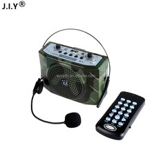 J.I.Y ultrasonic remote control bird hunting mp3 player hunting bird caller amplifier