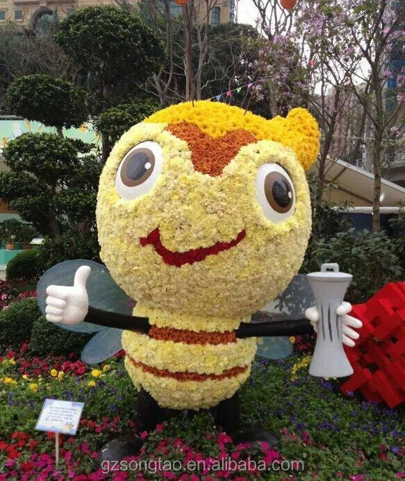 Wholesale decorative artificial bee animal topiary for for Artificial bees for decoration