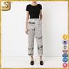 SHANGYI sublimation compression cropped pants, last cotton cropped pants, jogger cropped pants