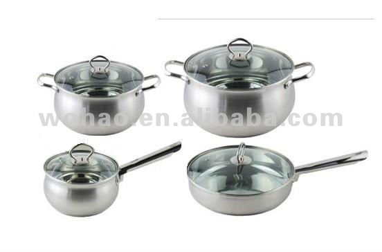 18 10 stainless steel cookware set