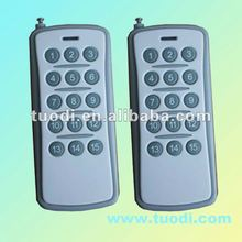 TDL-500-15 battery powered universal gate garage door opener remote control