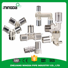 wholesale rotating pipe fittings brass gas hose fitting rubber elbow pipe fitting
