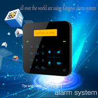 Hot selling low cost diy home security alarm system,wireless gsm alarm system with internet camera