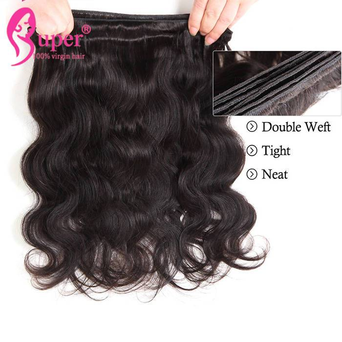9a Raw Cuticle Aligned Virgin Weave Vendors Indian Human Hair Bundle Deals With Frontal