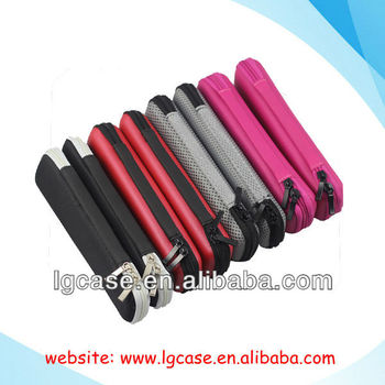 Colorful EVA mystic e cigarette carry case with zipper and customized branded