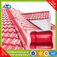 Cheap bamboo decorarive plastic spanish style synthetic resin villa roof tiles ,prices of step tile roof for sale
