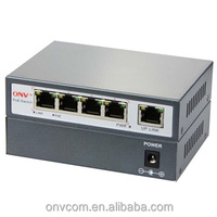 5 x 10/100Mbps Auto-Negotiation and Auto-MDIX security system installation ethernet switch