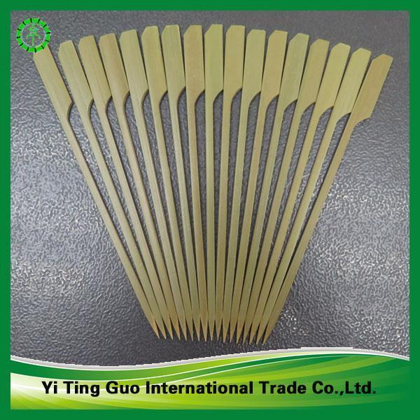 Cheap bamboo sticks skewers sticks made in China