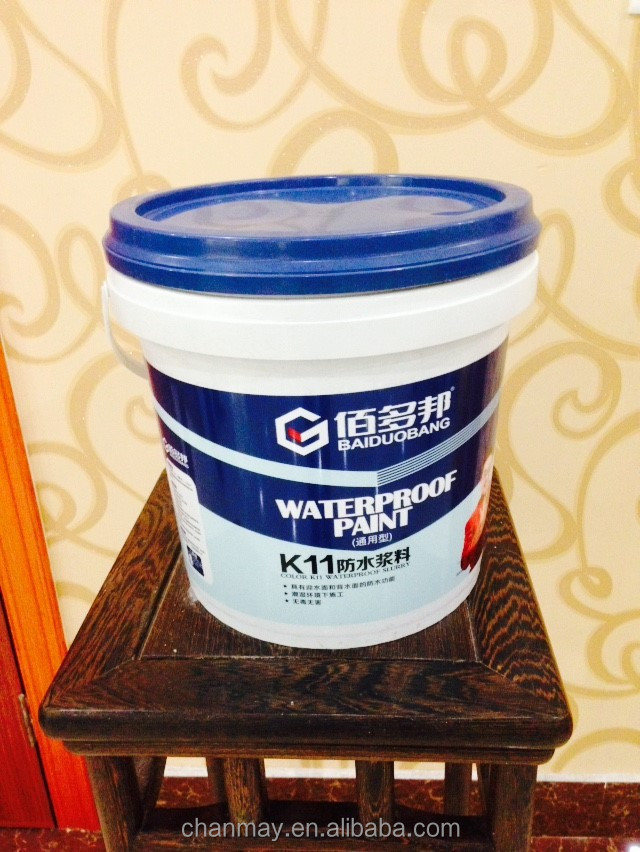 16L PP Plastic bucket for coating, latex paint, or other chemical products