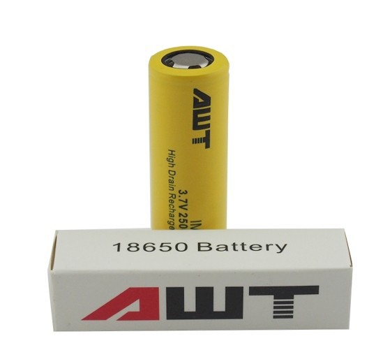 Aweite 18650 battery us18650gr g7 rechargeable lithium ion battery