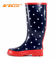 2015 Fashion Ladies Rubber Boots/Rainshoes/Galoshes/Rubber Overshoes