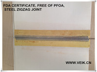 top sale heavy teflon belt non stick Free of Rohs PFOA PFOS and FDA certificate at different thickness