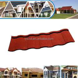 Metal roofing shingles/stone coated metal roof tile low prices/composite roof tiles