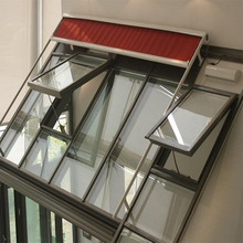 Top quality Australia Standard aluminium awing window with hardwares