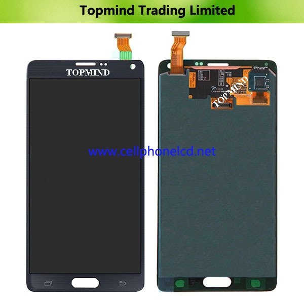 cell phone 5.7inches lcd display for Samsung galaxy Note 4