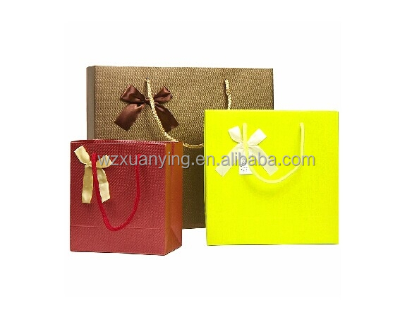 Low Cost Fantasy Small Cartoon Gift Paper Bag/Jewelry bag