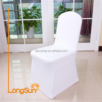 Universal wedding decotation spandex chair cover wedding party home hotel chair cover