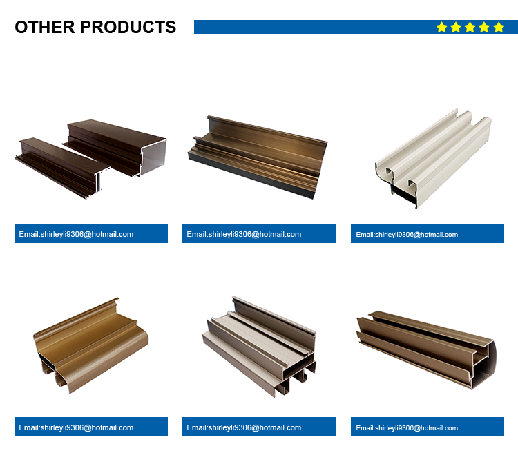 x shaped aluminum extrusions profiles for windows and doors