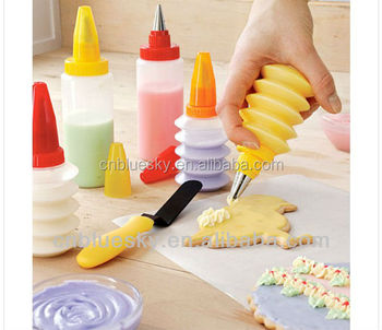 Wholesale plastic fondant cake decorating tools
