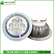 high power AR111 LED GU10 bulb 7W 9W 12W, 85-265V AC