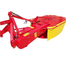 Agricultural Machinery Mounted Drum Mower Double Disk Grass Cutter