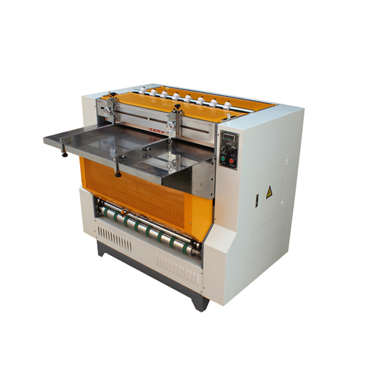 MSKC-1000B Semi-automatic Grooving Machine Can Make the Wine Box