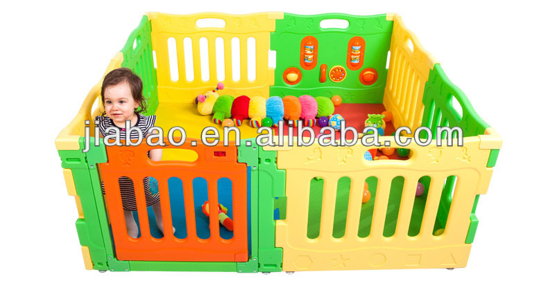 8pcs panels baby playyard, playpen