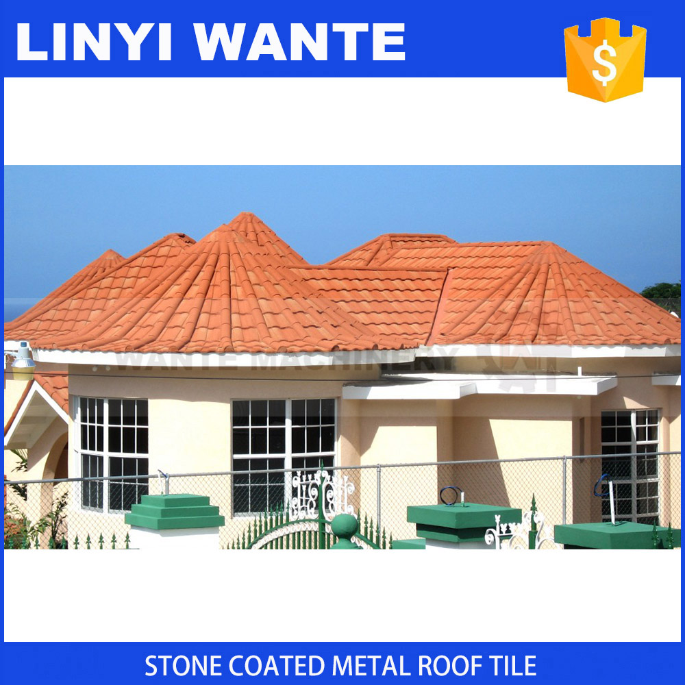 2017 New food grade high quality colored metal roofing roman of one new kind roof materials