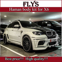 Hot price!!!!!!Auot part Conversion facelift X6 HM TYCOON EVO body kit for X6 E71