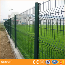 New Popular Curved Fence Panels,Triangle Metal Fence