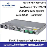 Emerson Netsure 212 C23-S1 48V telecom power supply rectifier system