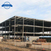 Prefabricated Universal space frame steel structure prefab poultry house chicken farm