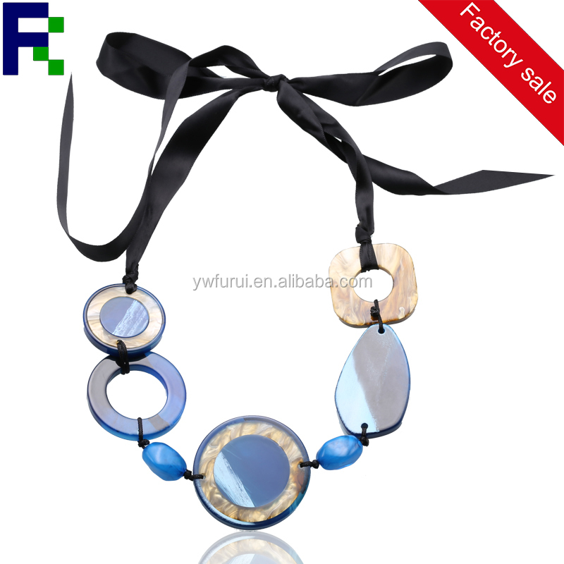 Fashion yakeli necklace, yiwu factory sell cheap necklace
