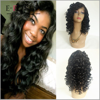 Cute Natrual Body Wave 100% Brazilian Virgin Human Hair Lady Star Silk Base Full Lace Wigs For Women
