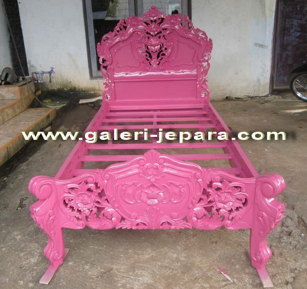 Children Kids Rococo Bedroom Furniture , Baroque and Bespoke Design of Indonesian Manufacturer