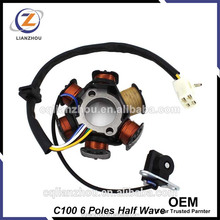 China Wholesales OEM C100 Motorcycle Magneto Coil