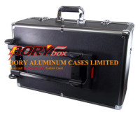 Travel luggage bag box aluminum professional flight case plano rolling tool box